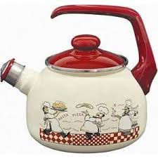 Купить <b>Чайник эмалированный со свистком</b> 2.5 л Metrot Таково ...