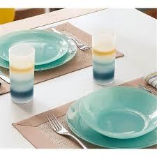<b>Тарелка десертная круглая</b> Luminarc Arty Soft Blue <b>20</b>,5см L1123 ...