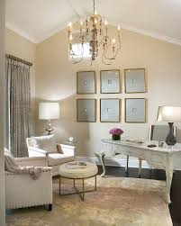 vallone design elegant office. vallone design elegant office with vaulted ceilings dark hardwood floors and latte colored walls pinterest