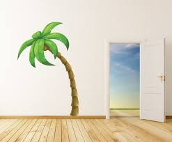 palm tree wall stickers: palm tree vinyl wall decal palmtreeuscolor  in contemporary wall decals