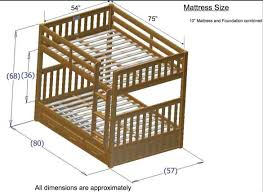 bunk bed dimensions for pinterest bunk bed deluxe 10th