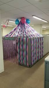 birthday cubicle decorations amazing christmas decorating ideas office 1