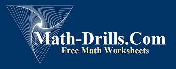 Math Worksheets | Math-DrillsOver 50,000 math worksheets for multiplication, addition, fractions, decimals, geometry, measurement