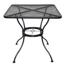 patio bistro table mw rustic wrought iron piece iron bistro patio black iron outdoor furniture