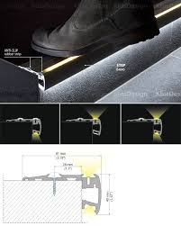 led stair lighting systems stair lights application lamps staircase