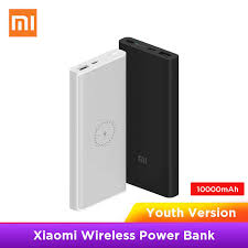 Xiaomi <b>Wireless Power bank</b> 10000mAh Youth WPB15ZM Type C ...