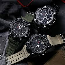 <b>SMAEL</b> Fashion Men's <b>Digital Waterproof</b> Watch <b>Wristwatches</b> ...