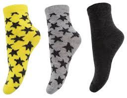 Купить Носки playToday <b>комплект из 3 пар</b>, размер 12, желтый ...
