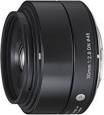 <b>Sigma</b> 33B963 <b>30mm f</b>/<b>2.8</b> DN MFT Fit Lens - Black: Amazon.co.uk ...