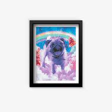 <b>Rainbow Pug</b> – PaintGem