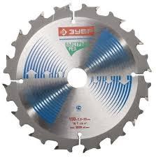 <b>ЗУБР</b> Быстрорез <b>165 x 20</b> мм 20Т, <b>диск пильный</b> по дереву 36901 ...