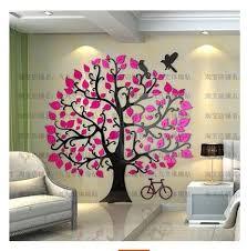 Online Shop New Big Tree <b>Cartoon</b> Hand Diy acrylic crystal ...