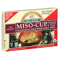 <b>Edward & Sons Miso</b> Soup <b>Cup</b> with Tofu, 1.3 oz – Central Market