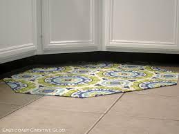 kitchen cool floor mat red