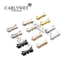 <b>CARLYWET</b> 13 17 19 <b>20 22mm New</b> Stainless Steel Silver ...