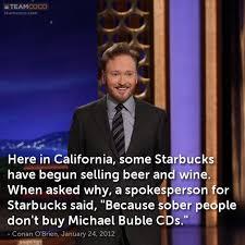 Michael Buble | Jokes @ TeamCoco.com via Relatably.com