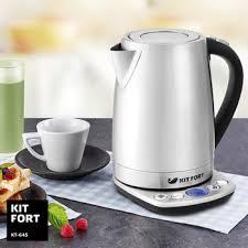 <b>Чайник электрический Kitfort KT-645</b> купить в интернет-магазине ...