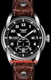 Швейцарские наручные мужские <b>часы AVIATOR V</b>.<b>3.07.0.081.4</b> ...