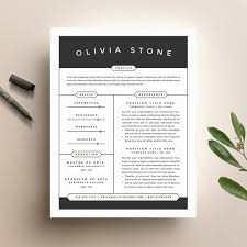 Top    ideas about Cover Letter Template on Pinterest   Resume     Creative Market Word Resume   Cover Letter Template