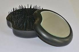 <b>Janeke</b> Pomme Travel Hairbrush (Black/Black - 11SP228 NER ...