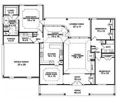 images about Dream home floor plans on Pinterest   Floor       images about Dream home floor plans on Pinterest   Floor plans  Square feet and House plans