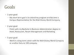morgan stempky career portfoliogoals •  year goal  • my short term