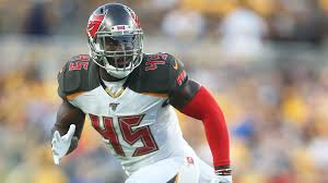 Devin White ruled out, first-round pick leaves Buccaneers' Thursday ...