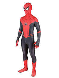 Far from Home Spider <b>Cosplay</b> Bodysuit 3D <b>Costumes Adult Kids</b>