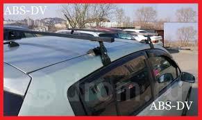 <b>Дуги</b> багажника (поперечины) на Nissan Tiida, <b>Усиленные</b> ...