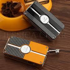 COHIBA Mini Pocket Cigar Lighter Metal <b>Windproof 3</b> Jet Blue ...