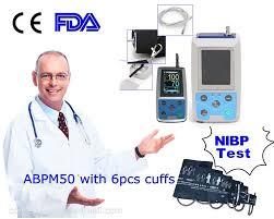 Contec <b>ABPM50 Handhold</b> 24 hours <b>Ambulatory Blood</b> Pressure ...