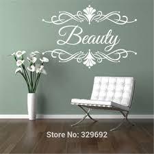PERSONALISED <b>Beauty</b> Salon Spa CUSTOM Business Name <b>Wall</b> ...