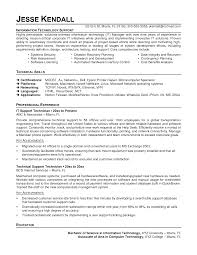 it support technician resume sample resume sample network it support technician resume sample