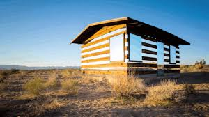 A Humble <b>Cabin</b> In The Desert Becomes An Art Phenom