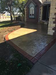 patio design ideas concrete superb