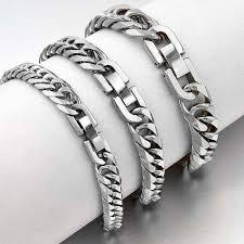 <b>2019</b> New <b>Stainless Steel</b> Bracelet Men <b>Jewelry</b> Party Fashion Hand ...