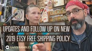 Updates And Follow Up On <b>New 2019</b> Etsy <b>Free Shipping</b> Policy ...