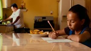 waiting for  quot superman quot  dvd reviewseen here doing her homework  daisy esparza is one of five elementary school students whose