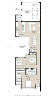 ideas about Narrow House Plans on Pinterest   Small House    Narrow Lot Homes Plans Perth Wa Narrow Lot Homes Perth  Builders WA  Home Builder