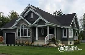 One Story house plans   garage  amp  One Level homes   garage    Maitland Ranch Bungalow house plan    galley kitchen  open floor plan concept