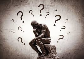 Image result for the thinker with question marks