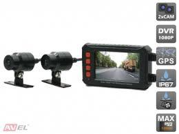 <b>Двухканальный видеорегистратор AVS540DVR</b> для мотоцикла ...