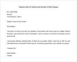 Sample Application Letter For Teacher Job