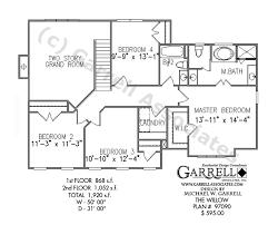 Willow House Plan   House Plans by Garrell Associates  Inc     willow house plan   nd floor plan