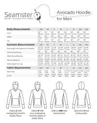 <b>Avocado Men's</b> Hoodie #6401 - Seamster Sewing <b>Patterns</b> ...