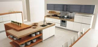 white kitchen design island olpos warm up a white kitchen and a combination of an oak kitchen island