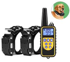 3 Channels <b>880 800m Waterproof</b> Rechargeable Dog Training ...