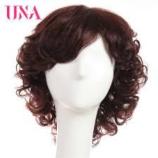 <b>UNA Human Hair Wigs</b> For Women Non Remy Human Hair 150 ...