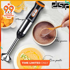 <b>DSP</b> Hand Held Blender <b>Food Mixer</b> Electric Portable SS blade ...