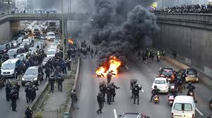 20 arrested in French taxi driver, air traffic controller, teacher protests ...